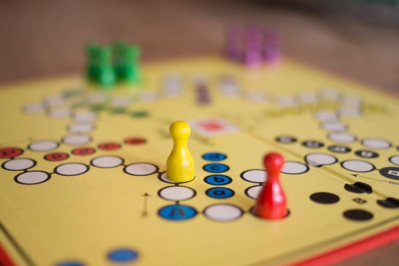 Družabne igre - človek ne jezi se